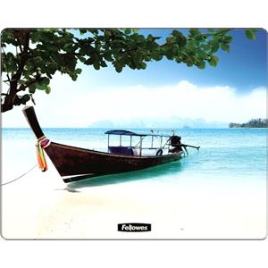 Picture of Mousepad Fellowes Brite  Mats Square 58748