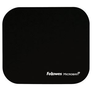 Picture of Mousepad Fellowes Microban Black 5933907