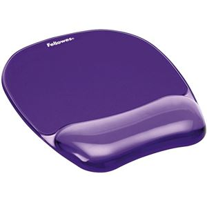 Picture of Στήριγμα καρπού Fellowes Crystals™ Gel Mousepad Wrist Support 9144104