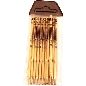 Picture of Οργάνωση γραφείου Fellowes Ball Point Pen Refills - Black 0911502