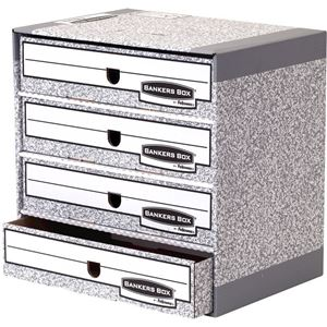 Picture of Μονάδες αποθήκευσης Bankers Box® System File Store - Grey 01840EU