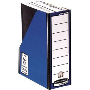 Picture of Κουτί περιοδικών Bankers Box® Premium Magazine File - Blue 0722904