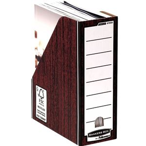 Picture of Κουτί περιοδικών Bankers Box® Premium Magazine File - Woodgrain 0723301