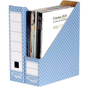 Picture of Κουτί περιοδικών Bankers Box® Magazine File Blue/White 10pk 4482101