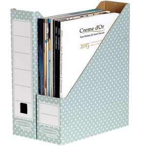 Picture of Κουτί περιοδικών Bankers Box® Magazine File Green/White 10pk 4481501