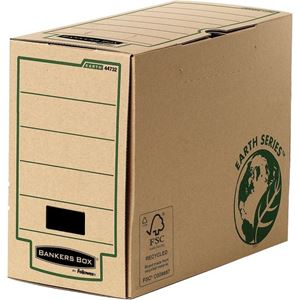 Picture of Κουτί μεταφοράς Bankers Box® Earth Series 150mm A4+ Transfer File 4473202