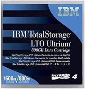 Picture of IBM LTO 4 Ultrium 800 GB / 1.6 TB Cartridges 95P4436