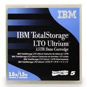 Picture of IBM LTO 5 Ultrium Cartidges 1.5 / 3 TB 46X1290