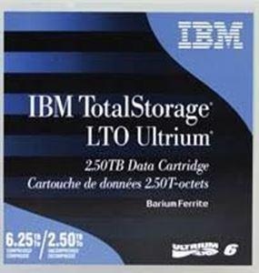 Picture of IBM LTO 6 Ultrium Cartridges 2.5 / 6.25 TB 00V7590