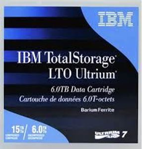 Picture of IBM LTO Ultrium 7 T Cartridges 6 / 15 TB 38L7302