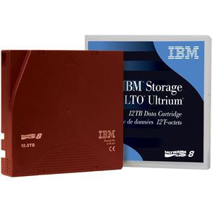 Picture of IBM LTO Ultrium 8 T Cartridges 12 / 30 TB 01PL041