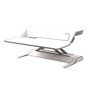 Picture of Fellowes Sit-Stand Workstation Lotus™ DX  Wh 8081101