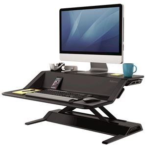 Picture of Fellowes Sit-Stand Workstation Lotus™ Bk 0007901