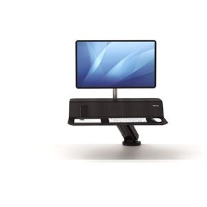Picture of Fellowes Sit-Stand Workstation Lotus™ RT Single Bk 8081501
