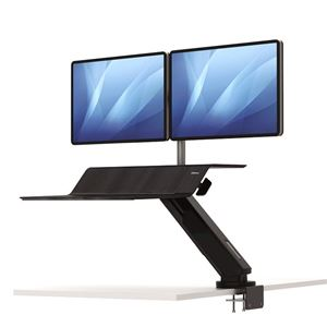 Picture of Fellowes Sit-Stand Workstation Lotus™ RT Dual Bk 8081601