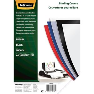 Picture of Εξώφυλλο βιβλιοδεσίας Fellowes Futura Polypropylene black 5476602