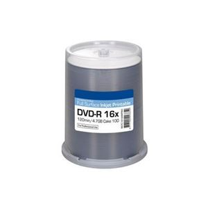 Picture of Οπτικό μέσο Ritek DVD-R Pro Inkjet White Printable 16x