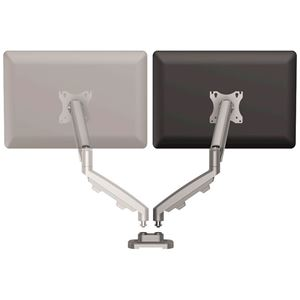 Picture of Βραχίονας οθόνης Fellowes Eppa™ Dual Monitor Arm Kit - Silver 9683701