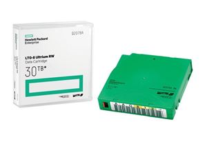 Picture of HPE LTO 8 Ultrium Tape Data Cartridges Q2078A