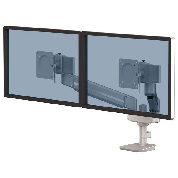 Picture of Bραχίονας οθόνης Fellowes Tallo™ Compact Dual Monitor Arm Sil 8613201