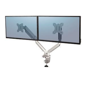 Picture of Βραχίονας οθόνης Fellowes Platinum Series Dual Monitor Arm Sil 8056501